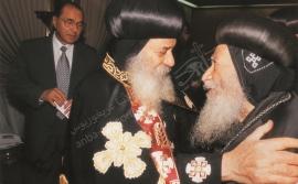 الأنبا غريغوريوس و البابا شنودة